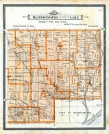 Bloomington and Part of Lake, Muscatine County 1899